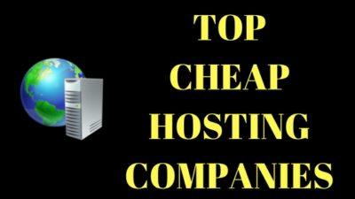 CHEAP WEB HOSTING COMPANIES