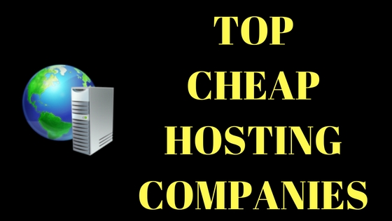 CHEAP WEB HOSTING COMPANIES